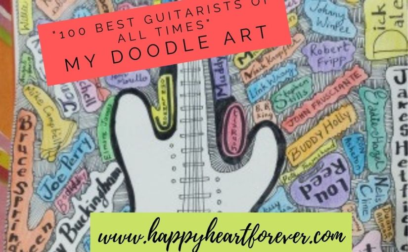 100 Best Guitarists of All Times – DoodleArt