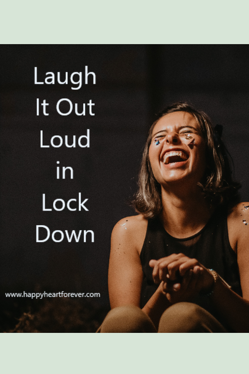 Laugh It Out Loud in Lock Down. This is compilation of creative/funny pieces on Corona, you can not resist but laugh. Humor is so important.