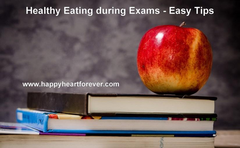 परीक्षा के दौरान पौष्टिकभोजन!