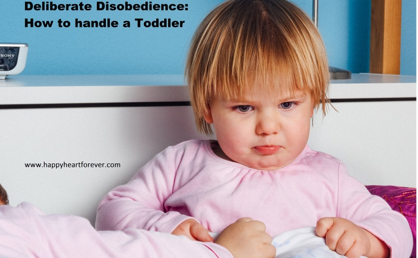 Deliberate Disobedience: How to handle aToddler
