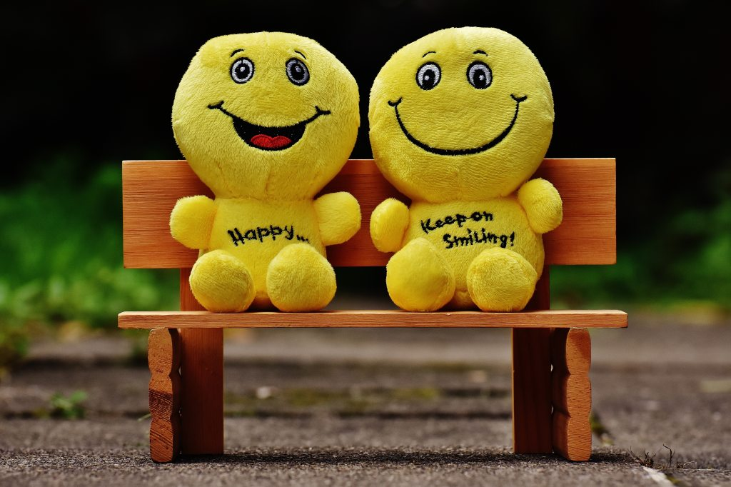 Always stay happy at heart. Smile at life, life will surely smile back to you.