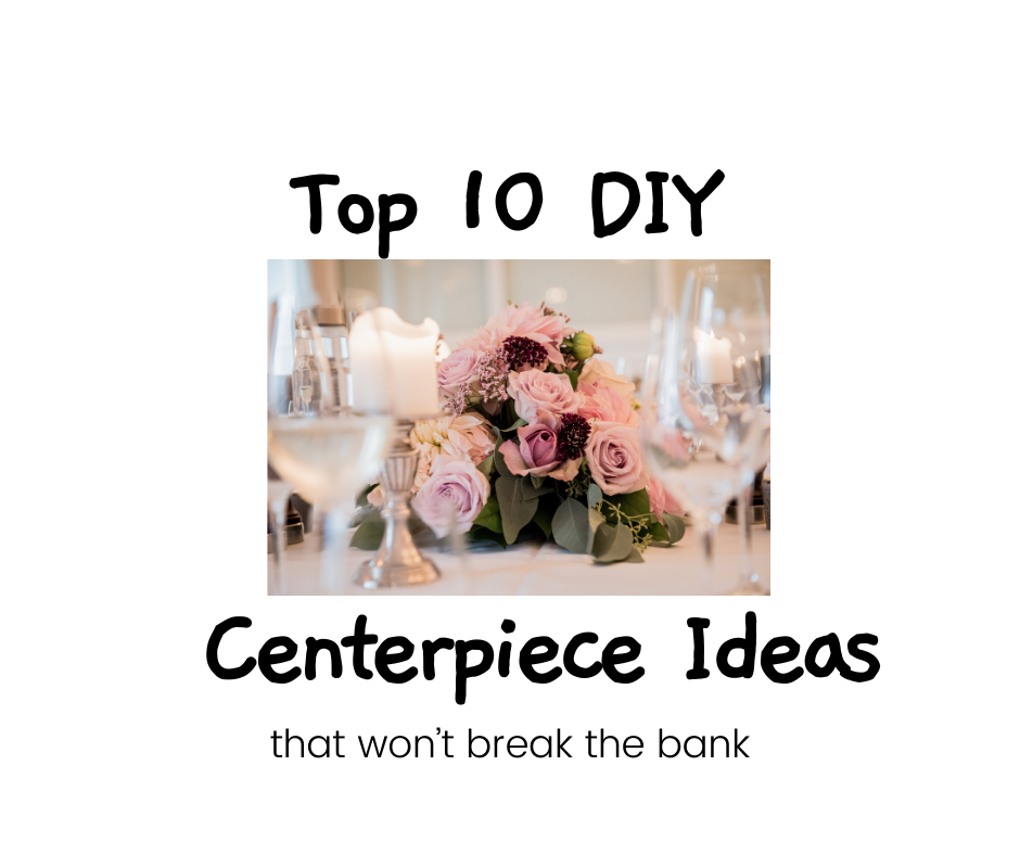 Top 10 DIY Christmas centerpiece ideas.  This list provides you with an amazing array of elegant Christmas centerpieces that won't break the bank.